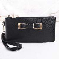 Hot sellng fashion leather products high capacity purse wallet direct factory
