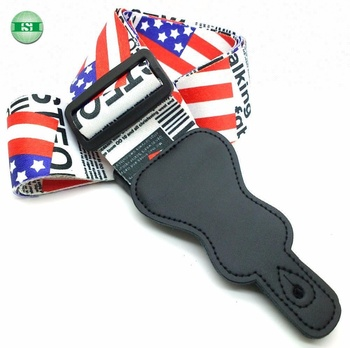 US flag design guitar straps whoelsale