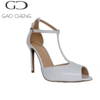 YYH008 8cm White Woman Sandals New