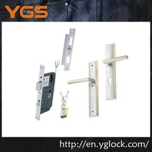 European electric steel door mortise lock set