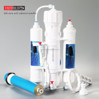 Good price ECRO3S-B01 Eastcooler 3 stage 190L RO aquarium internal filter system for Aquarium