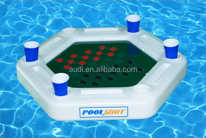 inflatable Pool Shot Floating Game Table ,pool floating table shooting games