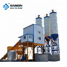 HZS90 new design small capacity stationary concrete cement batching plant