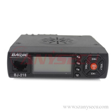 woki taki Baojie BJ-218 VHF/UHF Mobile Radio 136-174/400-470MHz Mini Mobile Radio with programming cable for baojie