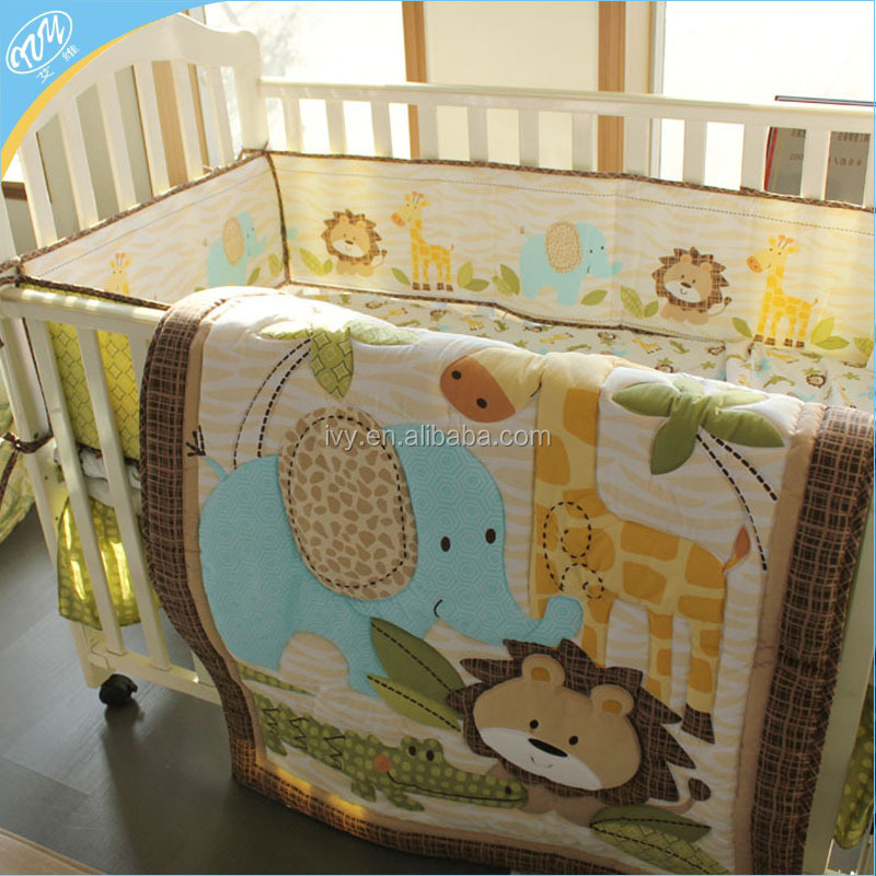 Competitive china supplier animals printing kids beddings set