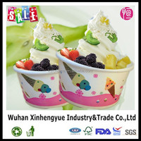 Frozen Yogurt and Frozen Desert Paper Tubs