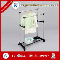 Stainless Steel Extended Double Pole Clothes