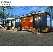 pre made container house customized architectural design