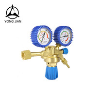 Made in China MIG welding and sutting brass air oxygen pressure regulator