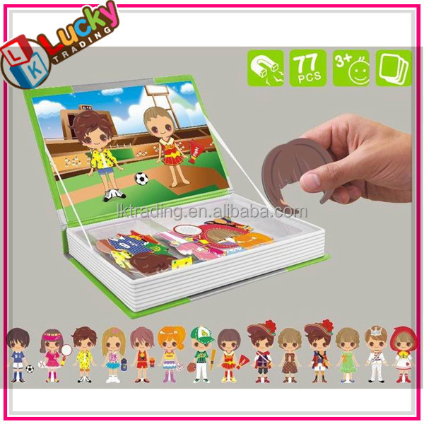 Child drawing board funny magnetic puzzle toys