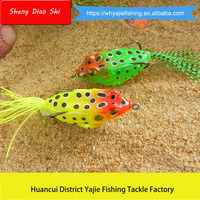 China Fishing Lure Manufacturer Soft Frog Fishing Lure Exported Japanese Fishing Lures