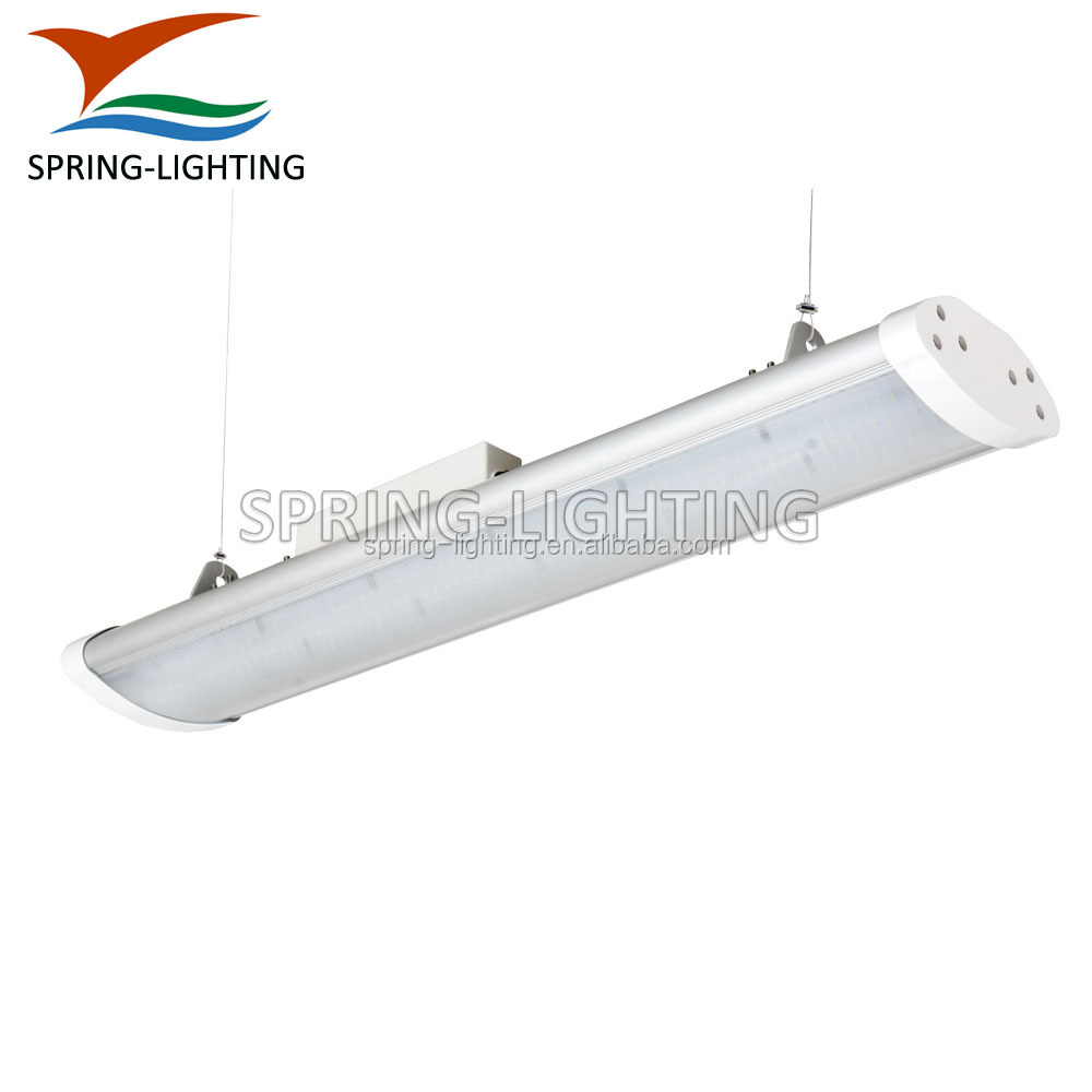 UL CUL listed IP65 IK08 100w 120w 5ft dimmable linear warehouse led high bay light