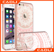 Printing flower PC+TPU Material and for Apple Phones Compatible Brand Case For iphone 7