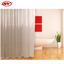 bathroom 3D peva printed shower curtain