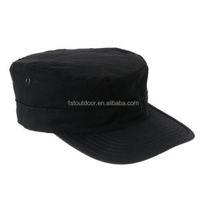The Black Camouflage Mens Military Hat Army Ranger Patrol Fatigue Cap