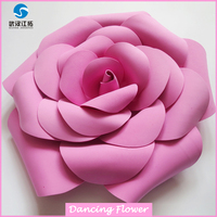 Fashion artificial foam flower wholesale
