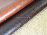 faux leather for chair covers /sofa /car seat cover ,PU and PVC leather fabric for car seat ,China leather manufacturer