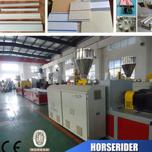 Most popular hot sale pvc floor skirting making machine manufacturer