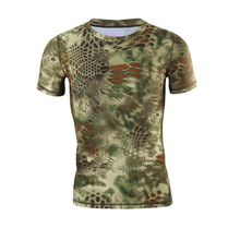 Popular sublimated fishing shirts, Camouflage fishing t shirt made in China