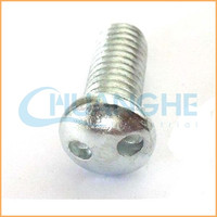 Factory supply high quality aluminum truss head machine screw