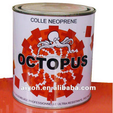 aluminum tube and canned contact cement, chloroprene rubber glue