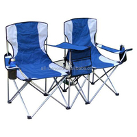 Outdoor camping metal Double foding chair (RBC-5402)