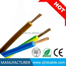 1.5mm 2.5mm 4mm 6mm 10mm house wiring China electric cable rates