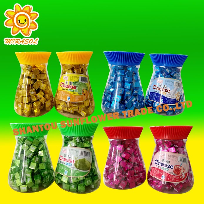 Mix Fruit Cheese Milk Candy