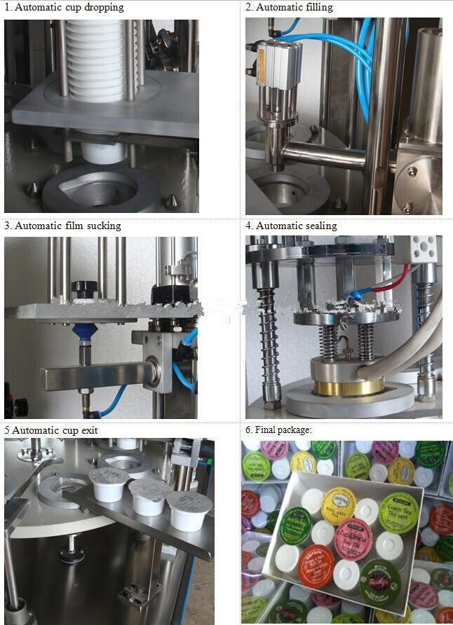 New Goods Viscous Liquid Water Filling Machine Used For Cup
