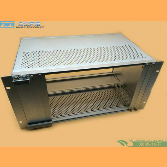 subrack 4U/ 177*483*350mm 19 Inch server rack subrack OEM Bitcoin Mining Rack computer enclosure network case metal enclosure
