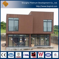 modern steel frame home with good insulation for commercial use