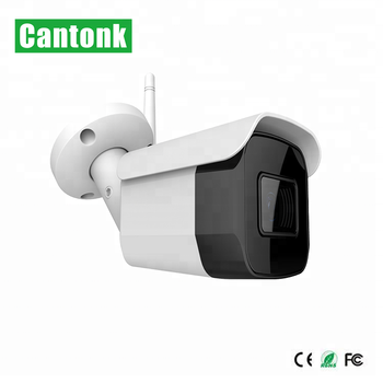 5MP Newest design Bullet WiFi  IP Camera With External SD Card Slot 30m Range