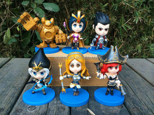 LOL league of legends PVC high quality action figures / LOL games figures / customise OEM are welcome