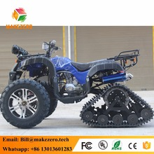 China cheap 150cc gas powered snow tracks atv sales jiangsu for 4 wheels crawler drive