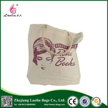 Top fashion attractive style recyclable canvas bag tote bag