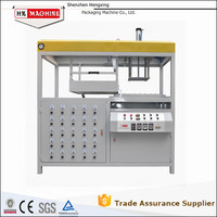 Overseas Service Automatic Vacuum Forming Machine for Plastic with Wind and Cold Water Cooling