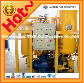 High Vacuum Waste Heavy Turbine Oil Refining System/Recycle Filter/Purification Unit