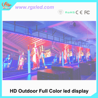 RGX P6 P10 P5 full color SMD led rental screen /led moudle rgb led controller wifi