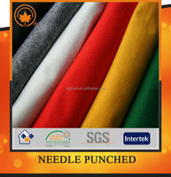 China manufacturer clothing material needle punched nonwoven fabric