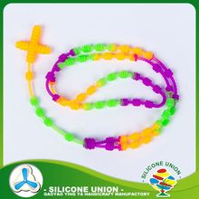No moq cheap silicone beads necklace wholesale