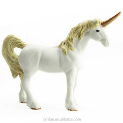 Custom clear unicorn toys, OEM plastic unicorn toys for kids ,Small unicorn plastic figure toy