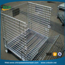 304 stainless steel industry metal wire mesh container (customized)