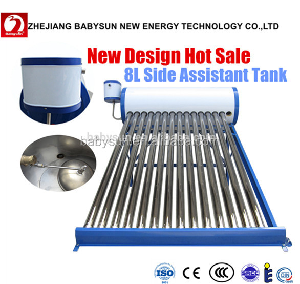 Water Heater For Home Use,Solar Energy System With 8l Assistant Tank ...
