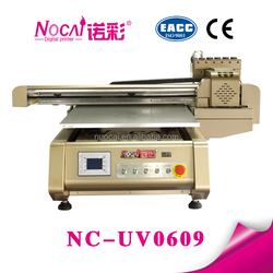 Factory selling 6090cm print size digital uv leather printer machine