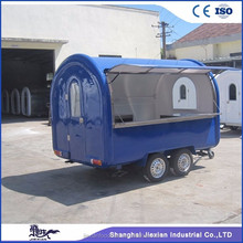 JX-FR300W Jiexian mobile hot sale tow truck hand truck food trailer semi trailer ice cream cart mobile food cart