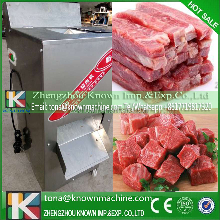 France hot sale automatic multifunctional frozen chicken fillet cutting machine commercial