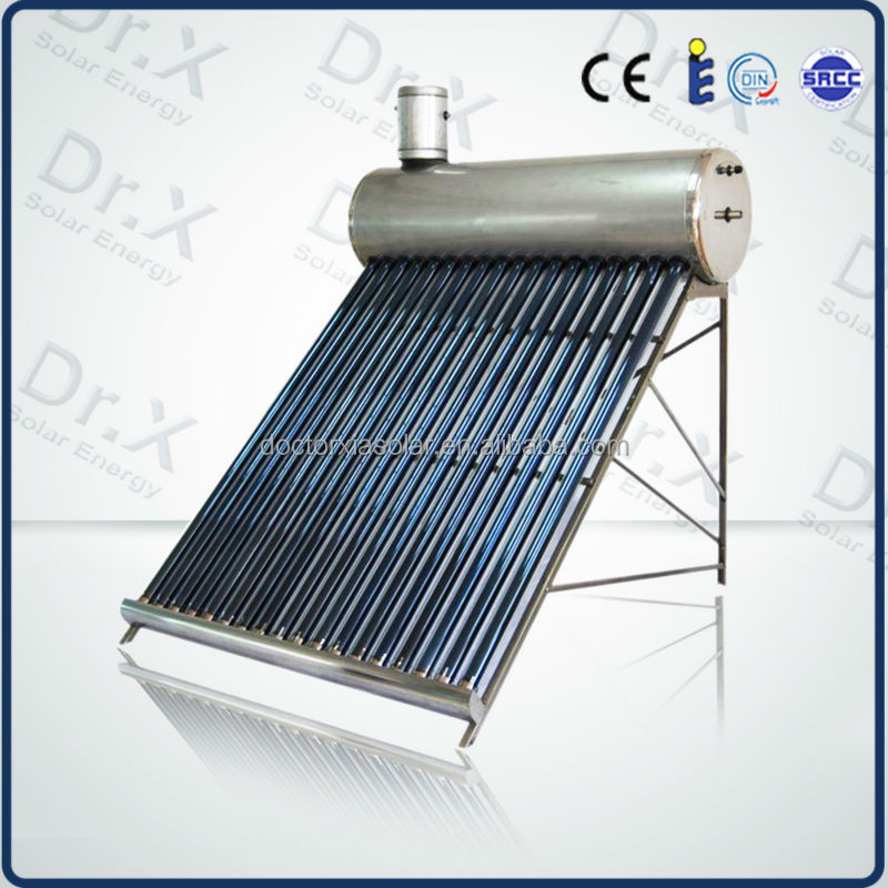 2015 hot sale energy saving compact pre-heated solar hot water heater system