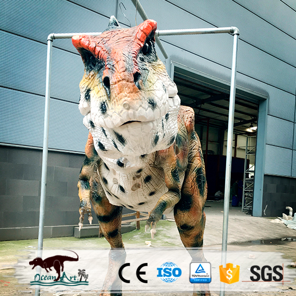 OA3275 Artificial Walkable Realistic Dinosaur Suits Halloween Animatronic