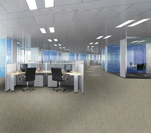 Warm noiseproof nylon office carpet tiles