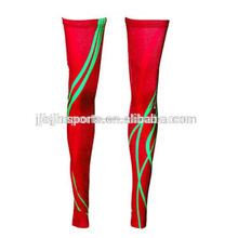 New High Quality Knee Calf Support Sleeve Breathable Compression Basketball Long Knee Sleeve elastic knee sleeve